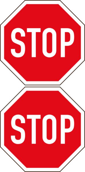 R1.1: Stop Sign