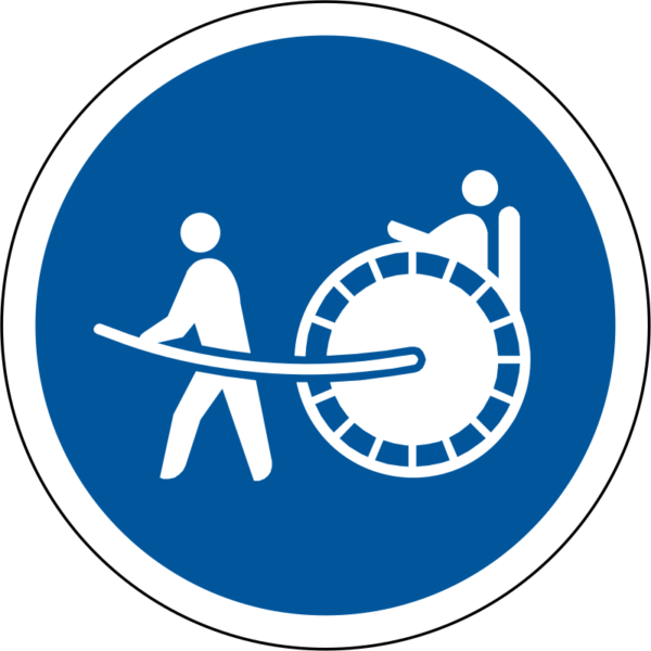 R128: Rickshaws Only Sign