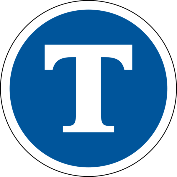 R132: Pay Toll Sign