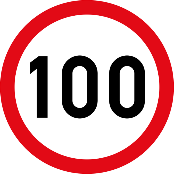 R201: Speed Limit Sign