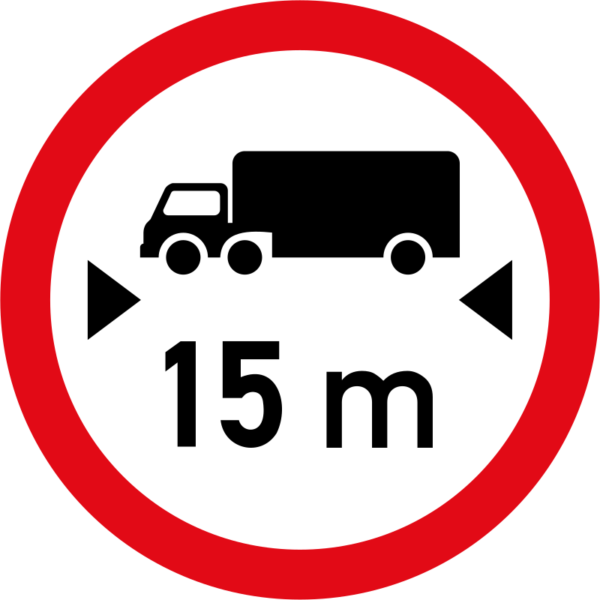 R205: Length Limit Sign