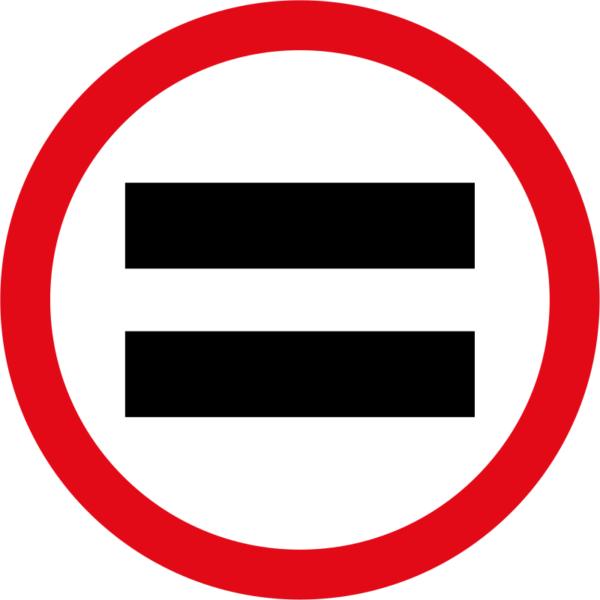 R208: Unauthorized Vehicles Prohibited Sign