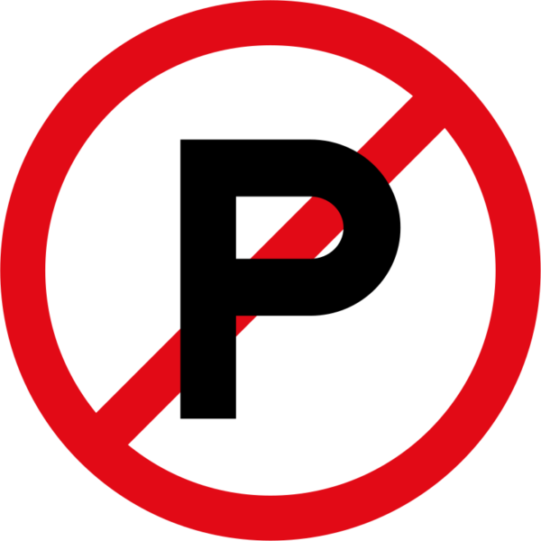 R216: Parking Prohibited Sign