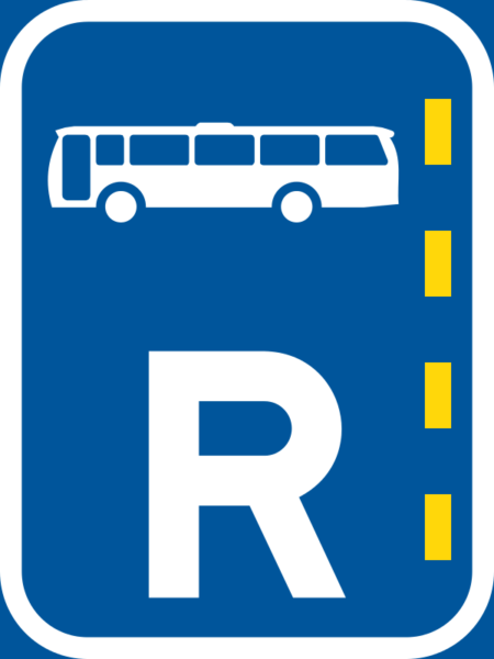 R302: Reserved Lane for Buses