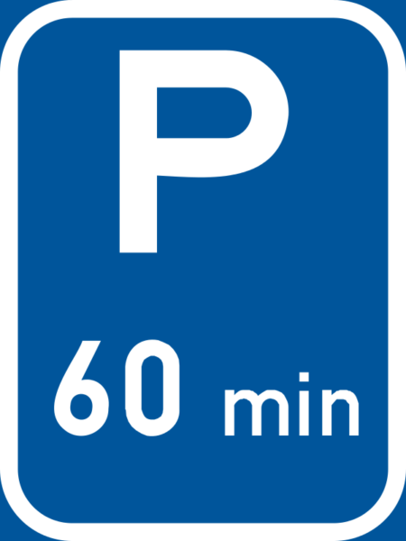 R306-P: Limited Parking Reservation Sign