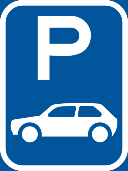 R308-P: Motor Car Parking Reservation Sign