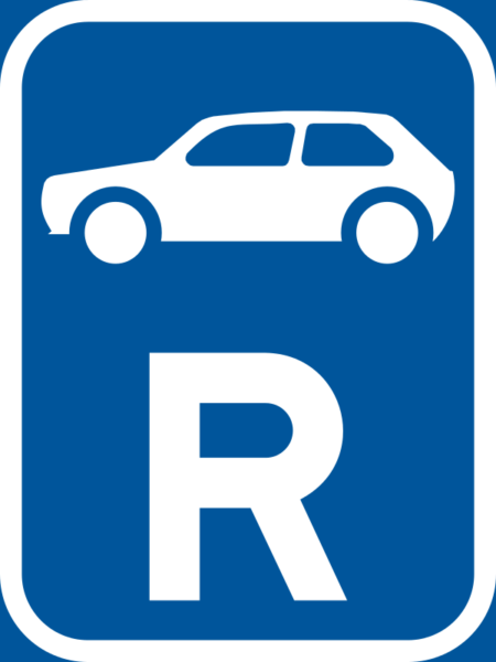 R308: Motor Car Reservation Sign