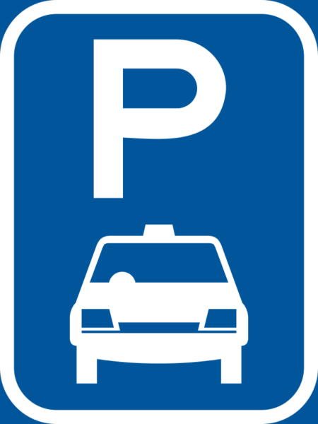 R309-P: Taxi Parking Reservation Sign