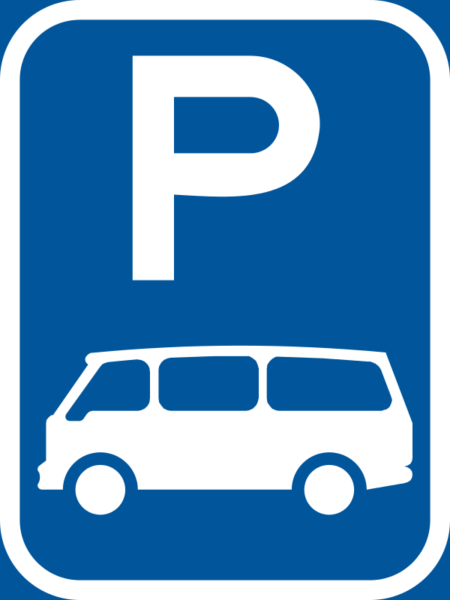R310-P: Minibus Parking Reservation Sign
