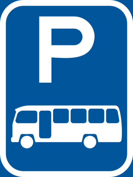R311-P: Midibus Parking Reservation Sign