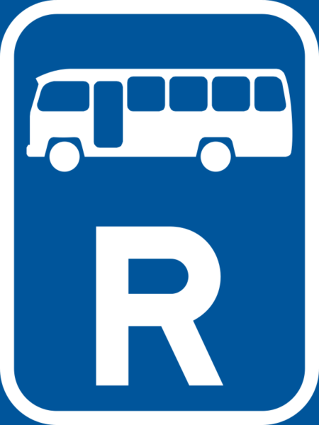 R311: Midibus Reservation Sign