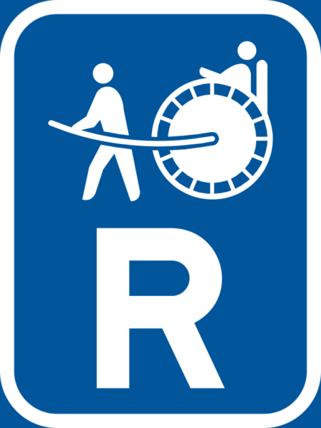 R318: Rickshaw Reservation Sign