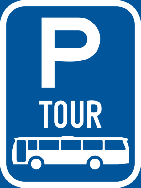 R319-P: Tour Bus Parking Reservation Sign