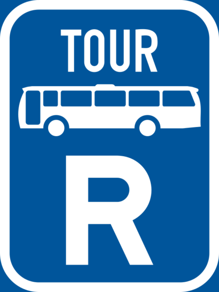 R319: Tour Bus Reservation Sign
