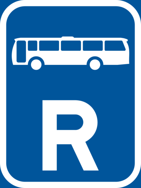 R320: High Occupancy Vehicle Reservation Sign