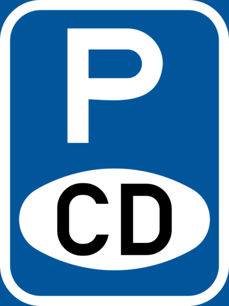 R324-P: Authorized Vehicle Parking Reservation Sign