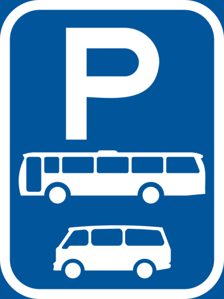 R327-P: Bus & Minibus Parking Reservation Sign