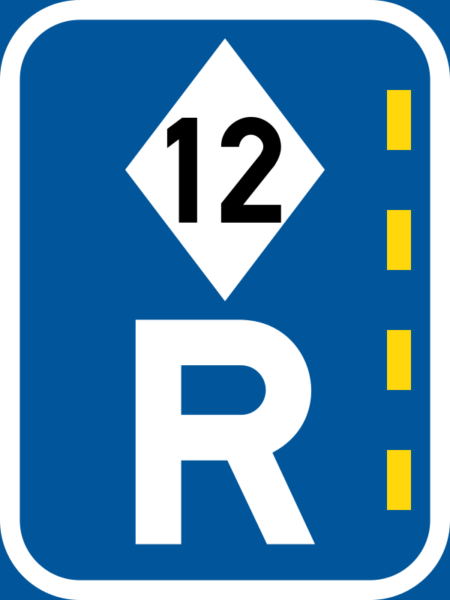 R336: High Occupancy Lane Reservation Sign