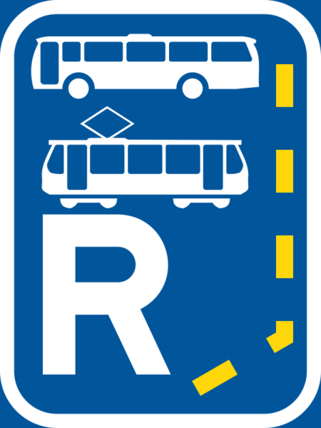 R344: Bus & Tram Lane Reservation Begins