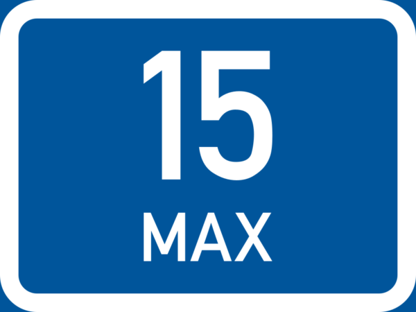 R540: Maximum Number Of Vehicles Sign