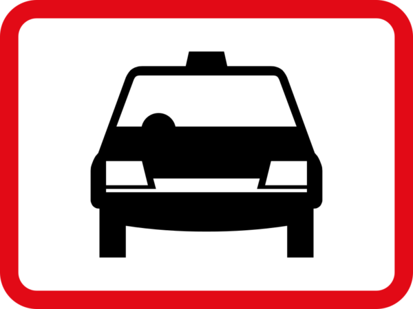 R564: Taxis Sign