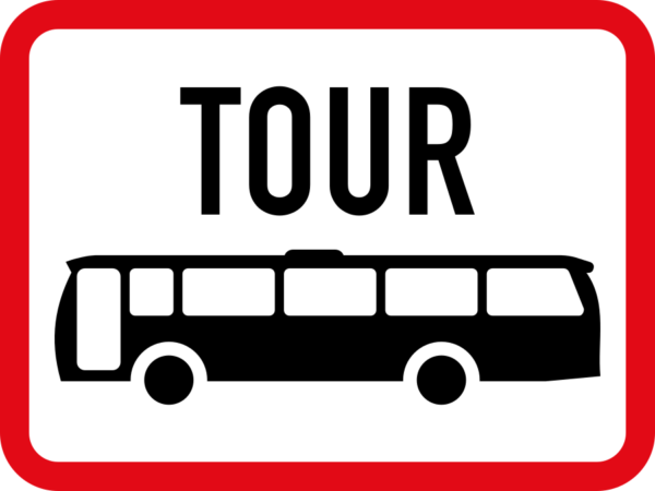 R574: Tour Bus Sign