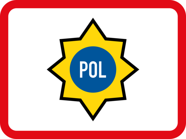 R577: Police Vehicle Sign