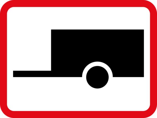 R582: Towed Vehicle Sign