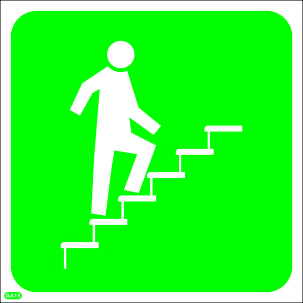 GA18: Stairs Going Up