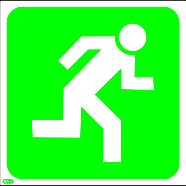 GA4: Direction To Escape Route
