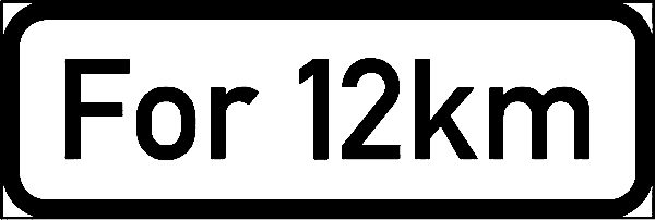 IN11.2: Supplementary Plate Sign