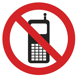 PV27: Cellphones Prohibited