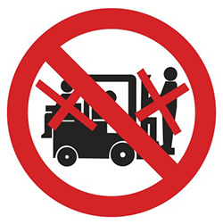 PV29: Lifting On Forklifts Prohibited