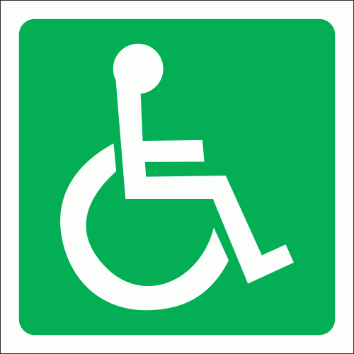 GA22: Allocated Or Accessible To Wheelchairs