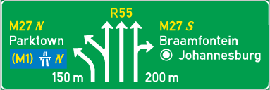 G12: Overhead Advance Direction