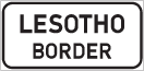 GL5: National Or Provincial Border