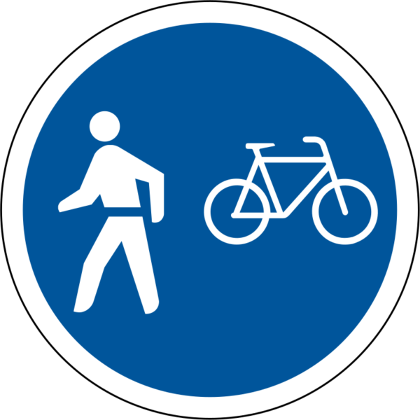 R114: Pedestrians/Cyclists Only
