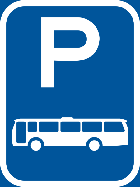 R301-P: Bus Parking Reservation Sign
