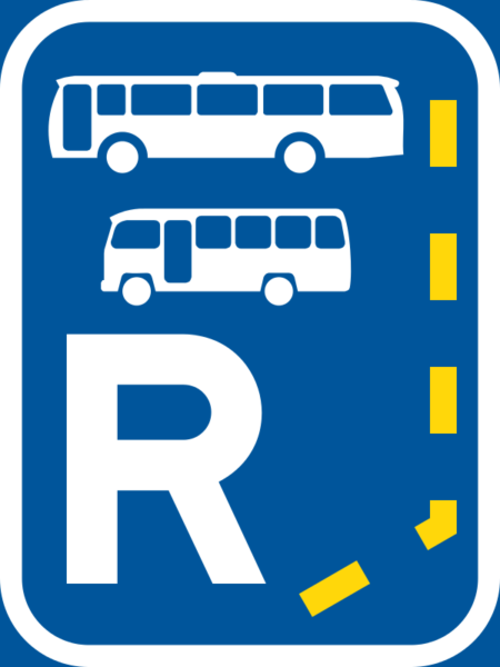 R332: Start of Reserved Lane for Bus & Midibus