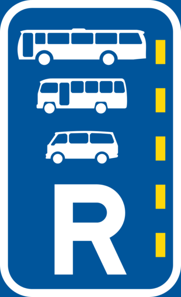 R334: Reserved Lane for Buses, Midi-buses and Mini Buses