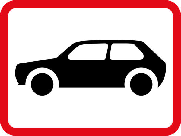 R563: Motor Cars Sign