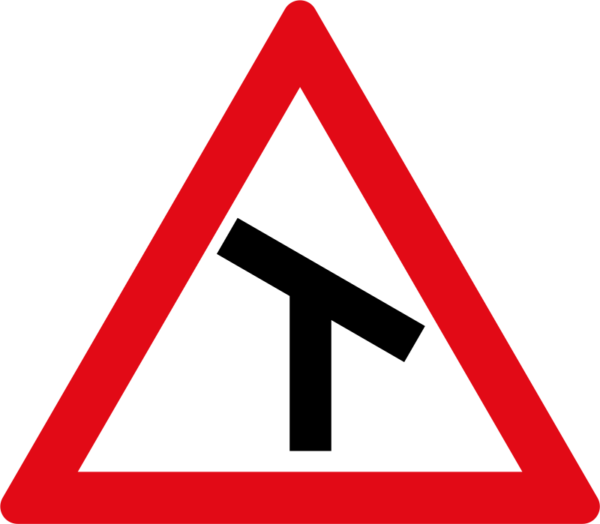 W105: Skew T-Junction Right