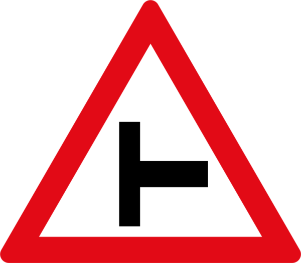 W108: Side Road Junction Right