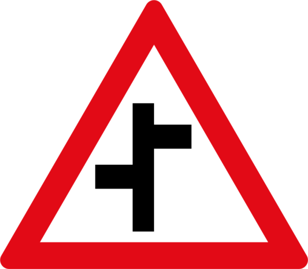 W110: Staggered Side Road Junctions