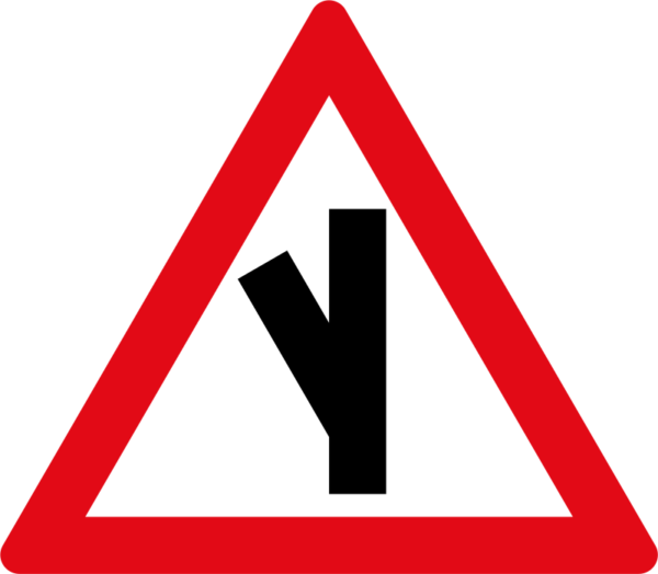 W111: Sharp Junction Half Left