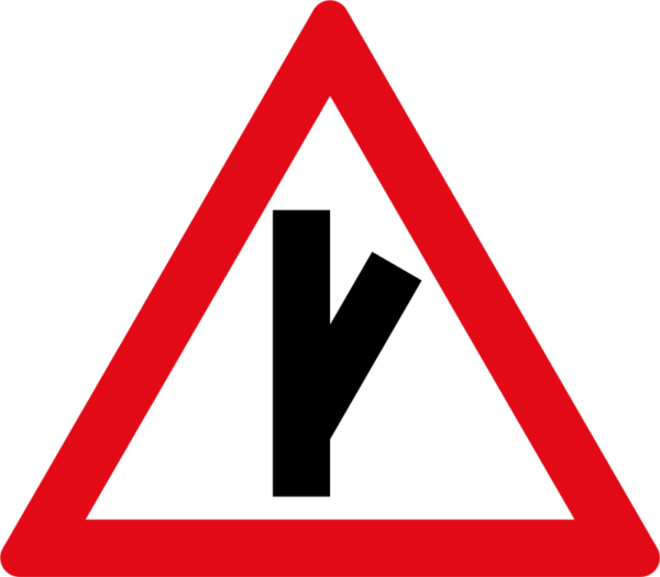 W113: Sharp Junction Half Right
