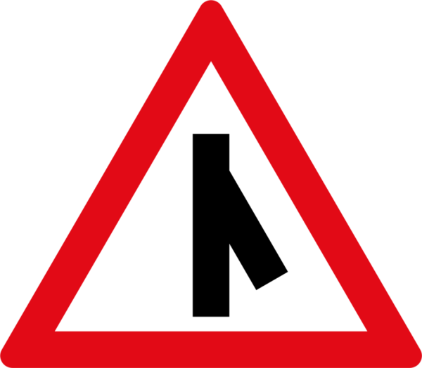 W114: Sharp Junction Right