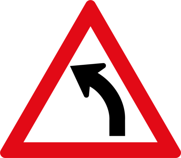W203: Gentle Curve Left