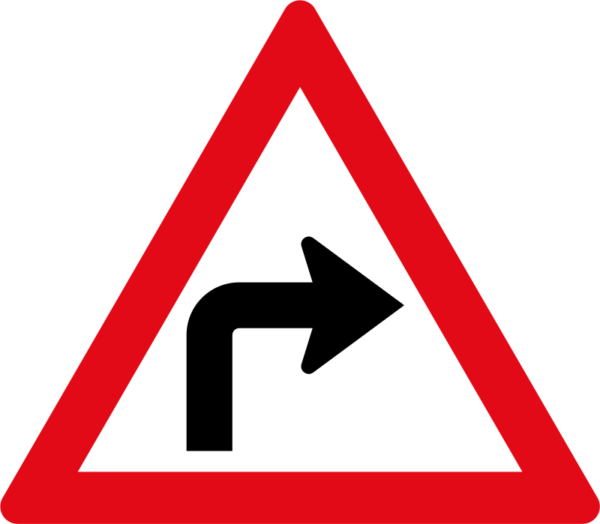 W204: Sharp Curve Right