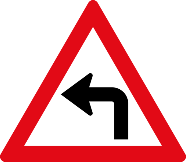 W205: Sharp Curve Left